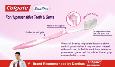 COLGATE SENSITIVE TOOTHBRUSH