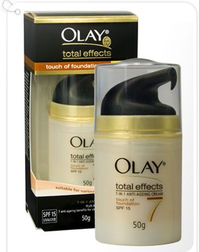 OLAY TOTAL EFFECT BLACK