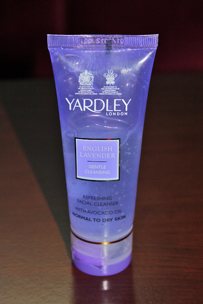 YARDLEY FACE WASH DEEP CLEANSING ENGLISH LAVENDER
